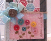 all things grow with love - Card and Envelope