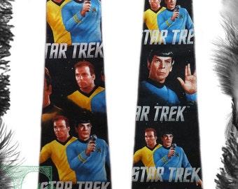 Star Trek Kirk Spock Tie, Geek, Trekkie