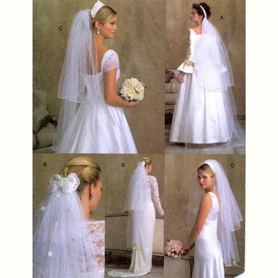 Fingertip Bridal veils Floor length Wedding veil sewing