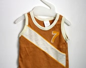 70s Baby Tank Top Shirt Sz 6-9 months