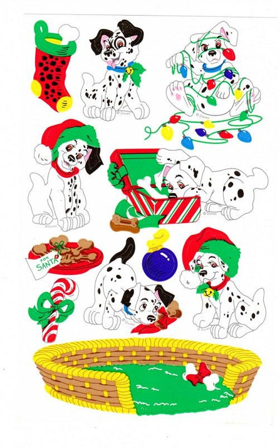 101 Dalamations Christmas Clip Art – Clipart Free Download