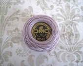 DMC 3042 Light Antique Violet Size 12 Perle Cotton Thread