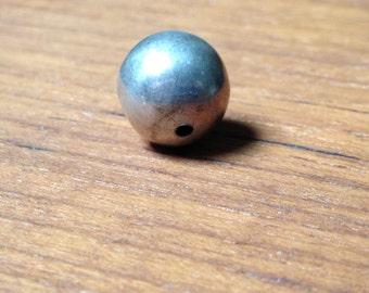 925 spherical handmade bead