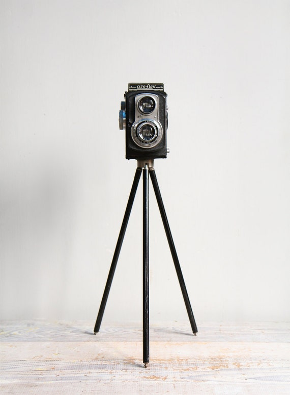 Vintage Ciro Flex Film Camera And Tripod By Ethanollie