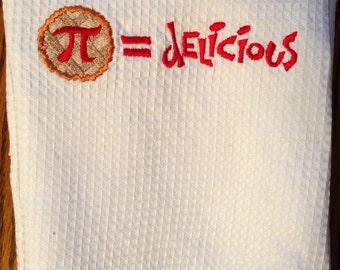 Delicious Pi - Kitchen Towel