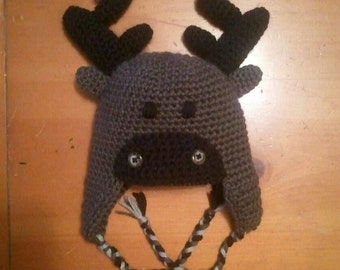 Popular items for crochet moose on Etsy