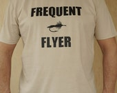 Men's Fly Fishing T Shirt - Frequent Flyer