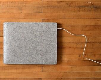 iPad Air Sleeve - Grey Felt - Short Side Opening