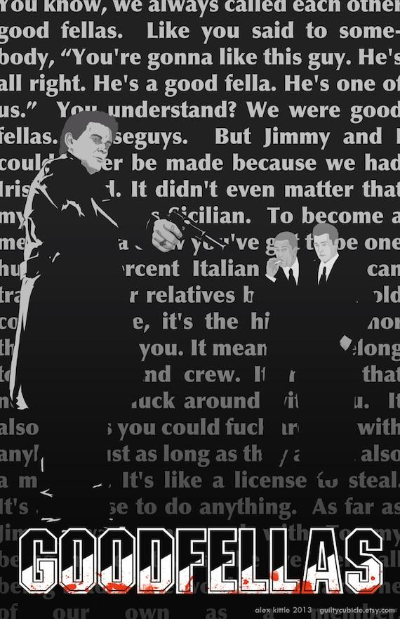 GOODFELLAS Original Movie Poster