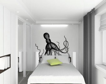 Realistic Octopus  vinyl Wall Decal