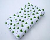 Green Heart Wrapping Paper - Gra - Love - Irish Language - Fresh Green Hearts Top Quality 140gsm Paper