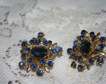 Miriam Haskell Signed Earrings
