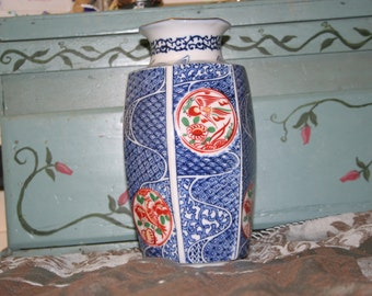 Japanese Vase with Stand