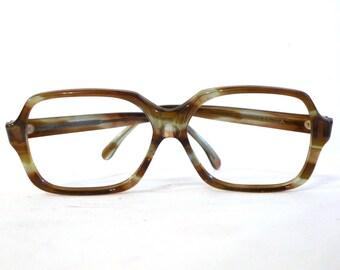 sale Bigger Vtg NOS Faux Tortoise Eyeglasses, Rectilinear Hiphop Director Sunglasses Frames. Wayfarer.