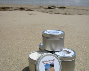 BEACH SAMPLER (four 2-oz soy candles)