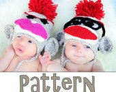 make your own Jimmy and Millie SockMonkey (DIGITAL KNITTING PATTERN) newborn baby toddler child adult