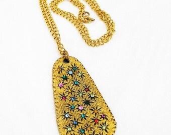 Edlee Large Celestial Pendant Necklace