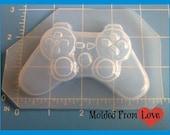 Video Game Controller No. 1  Flexible Plastic Handmade Resin Mold