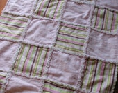 Flannel Rag Doll Quilt- Sweet Pea
