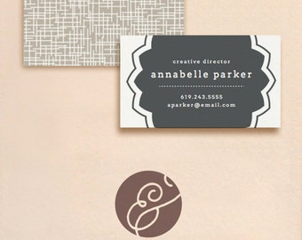 DIY Business Cards - Seal - INSTANT DOWNLOAD