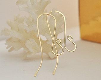 how to make hoop earrings with 20 gauge wire