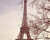 Paris Decor, Paris Photography, Eiffel Tower Decor, Eiffel Tower Print, Eiffel Tower Paris, Eiffel Tower Photo, Pastel Colors - La Tour