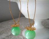 Hats Off - Vintage Bead Earrings