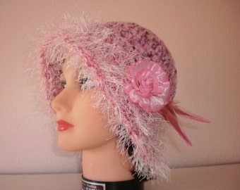 Woman's Fashion Hat  Woman's Winter Hat  Womans Spring Hat  Crocheted Hat for Women  Crocheted Spring Hat