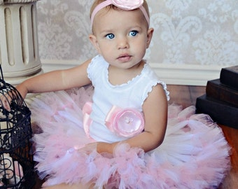 Sweet Pink Toddler Birthday Dress Tutu