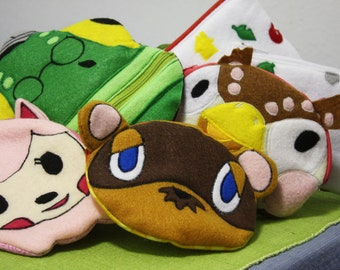 Custom Animal Crossing pouch Character of Your Choice