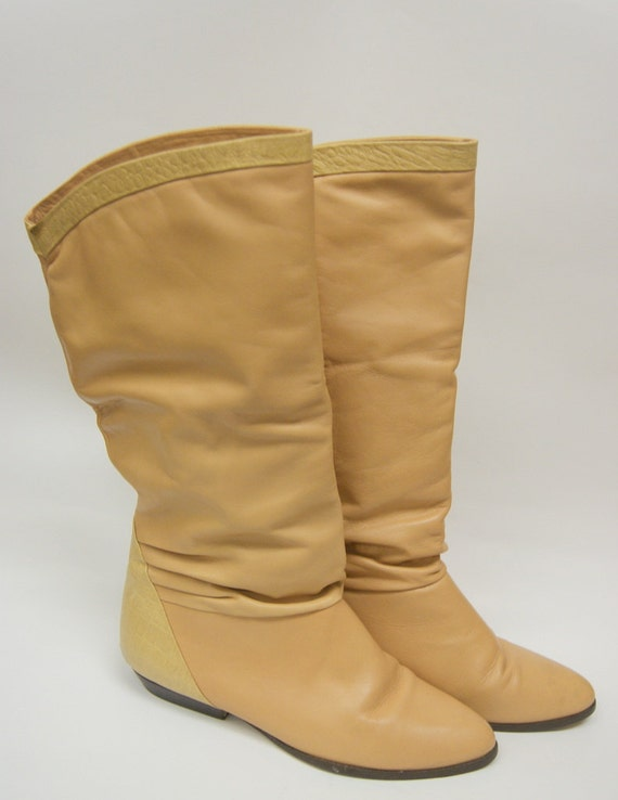 Nude Colored Boots 65