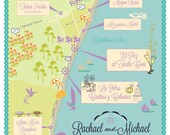 Listing for Megan - Tulum, Mexico Wedding Map