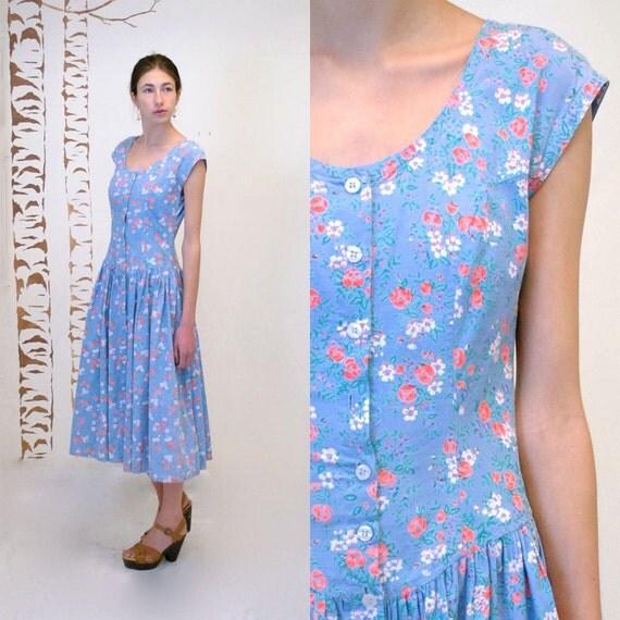 Cotton SunDress  //  Floral Dress  //  PARiS in SPRiNG