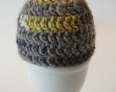 Bauhaus Grey Variegated Yarn Egg Cozy