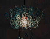 Seawater and rust - Chandelier - Unique