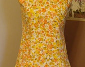 1960s Picking Wild Marigolds Dress.