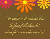 "A Mother Is... Digital Print - 8x10"" Instant Download"
