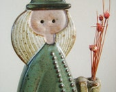Vintage Alfred Knobler Modern Ceramic Woman Figurine
