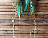 Feather Earrings - Mother Earth