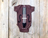 Baby Gift, Violin or Cello Bodysuit, The Yo Ma Ma, Instrument onesie, Guitar, Musician Gift, Funny Baby Gift, Gifts Under 25