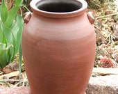 Pottery Crock, Wood Fired, 1 quart