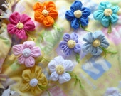 Baby Shower Corsage..Washcloth Flower ..Boy, Girl  or Neutral..Mom To Be Corsage..Happy Flower Corsage..Beautiful and Budget Friendly :)