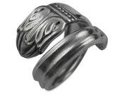 Silverware Ring - Danish Princess - Vintage Silverware