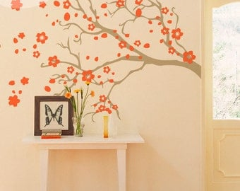 Watsonia Branch -- Vinyl Wall Decal
