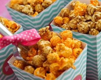 Ready to Pop Popcorn Box - Printable Treat Box - Petite Party Studio