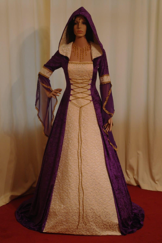 Medieval Dress Celtic Wedding Dress Renaissance By