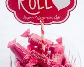 Valentine PRINTABLE 'I Like How You Roll' Valentine Tag from Love The Day