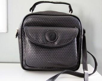 Vintage Strappy Black Purse by Liz Claiborne