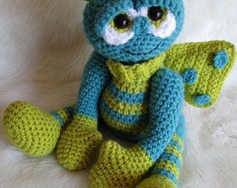 Crochet Xenomorph : Crochet Pattern Alien Doll by Teri Crews instant download PDF format ...