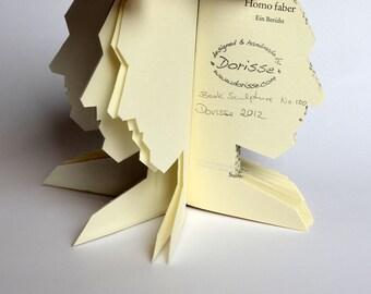 Book Art: Homo Faber - Book Sculpture